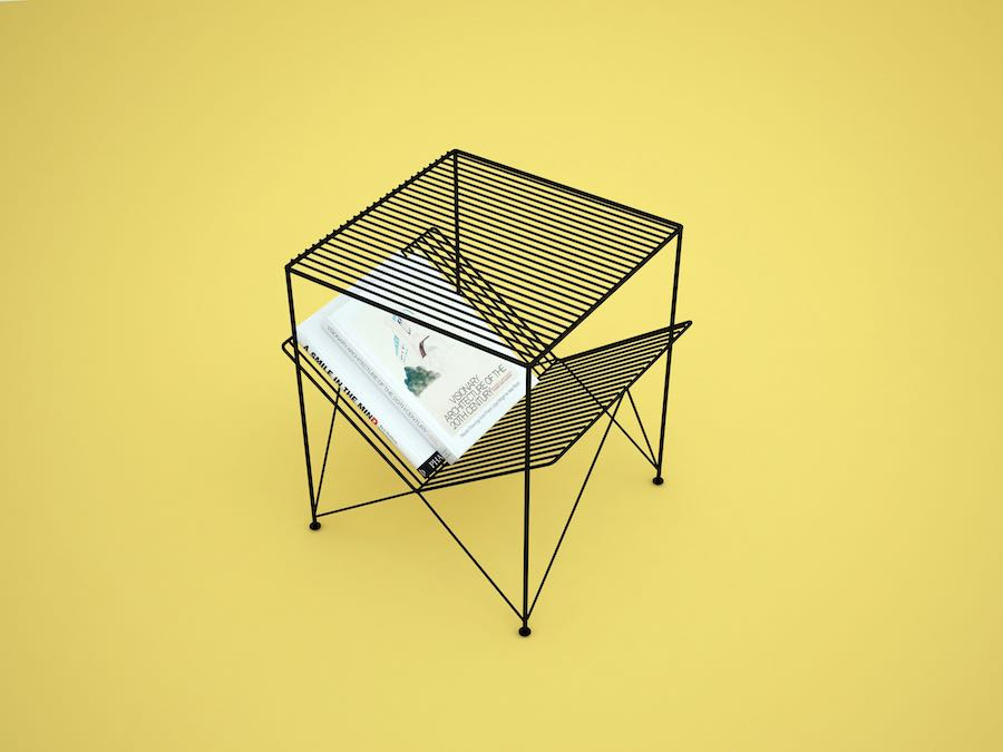 Atria side table - Photo: courtesy of Mustafa Basaran at Gliese Design.