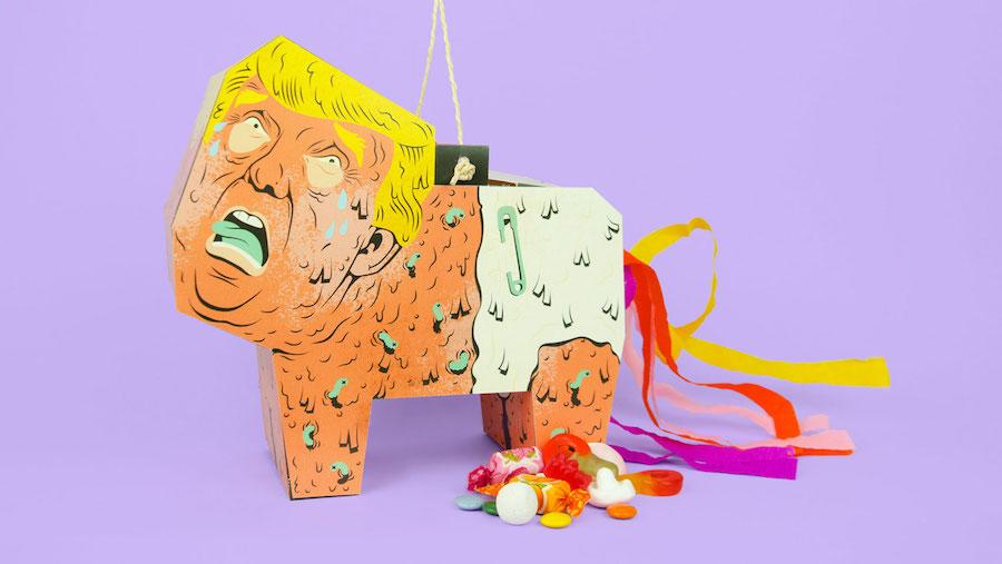 Trump Piñata - Image by Caty Aguilera.