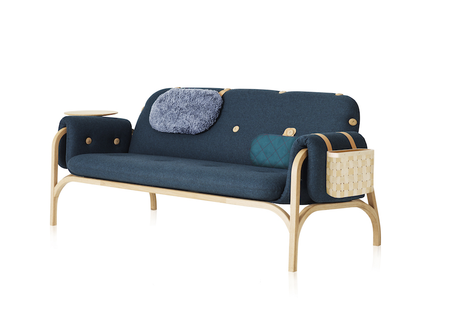 Swedese: Button sofa by Front - Photo: courtesy of Swedese.