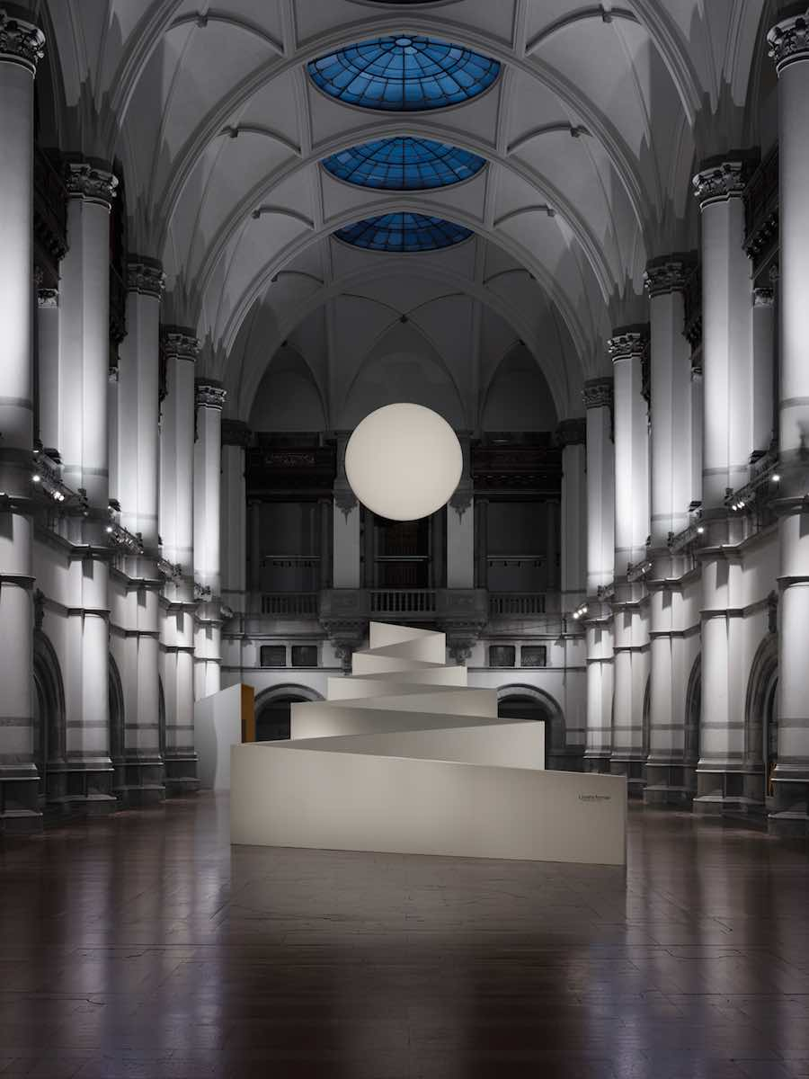 Nordic Light exhibition @ Nordic Museum, Stockholm - Photo by Note Design Studio.