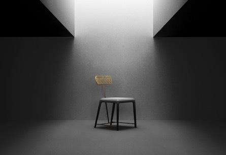 Fan Chair by Frank Chou