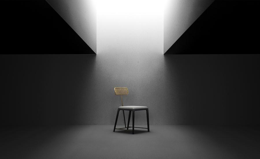 FAN chair - Courtesy of Frank Chou Design Studio.