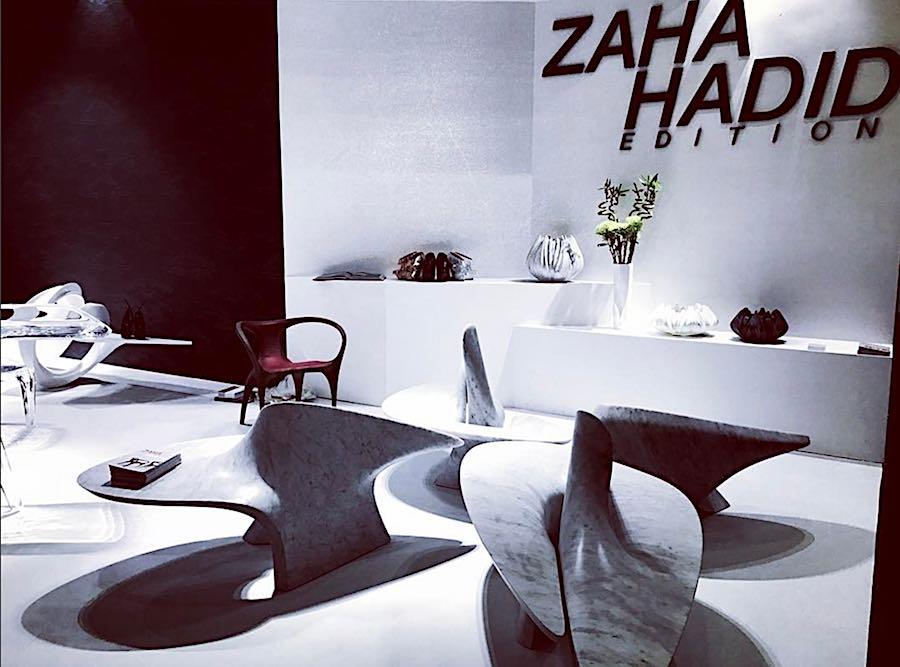 Zaha Hadid @ DesignShanghai Photo by @uprising_razgriz, IG.