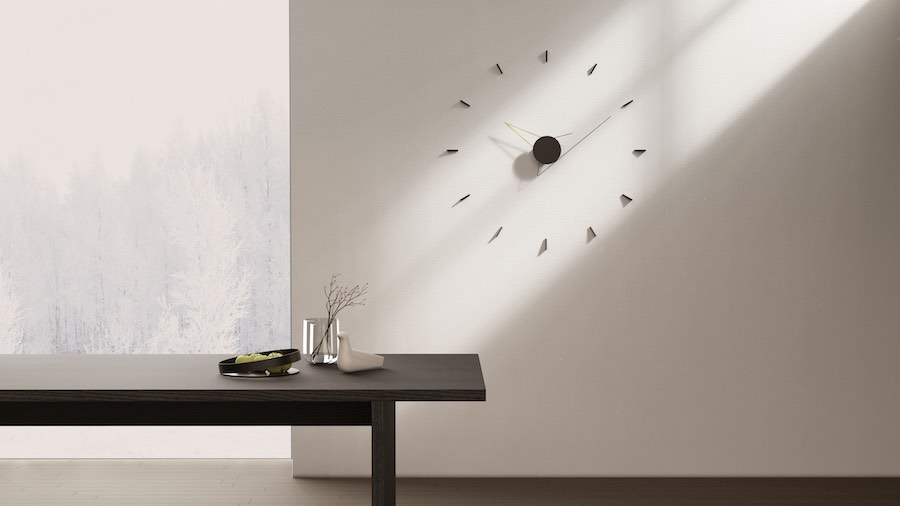 Silo wall clock - courtesy of Beyond-Object.