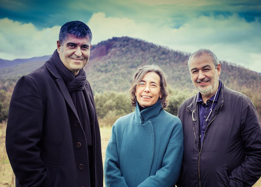 Rafael Aranda, Carme Pigem and Ramon Vilalta - Photo by Javier Lorenzo Domínguez.