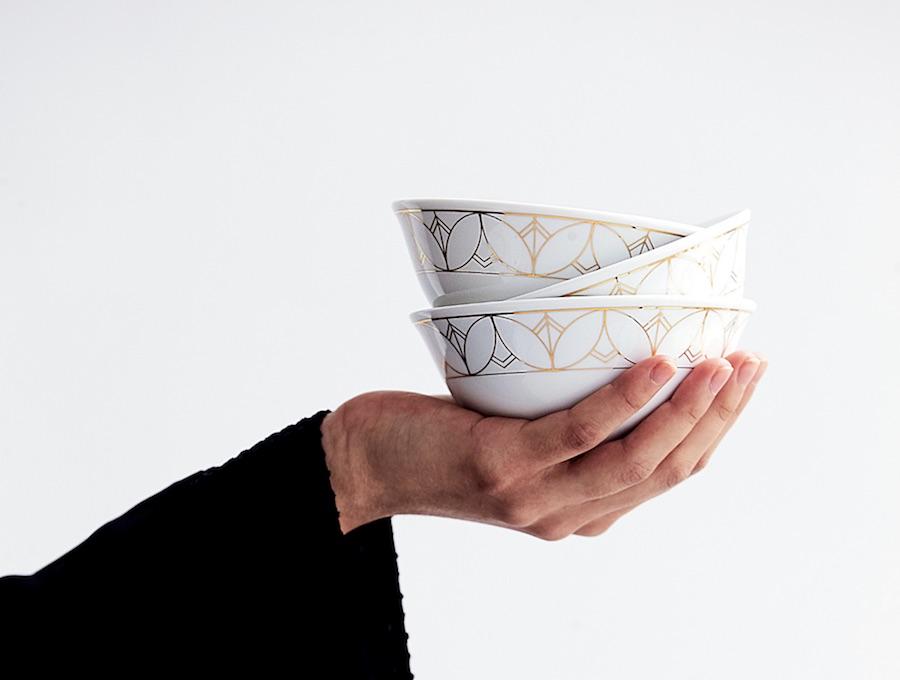 TEBR porcelain series by Aljoud Lootah - Photo: courtesy of Aljoud Lootah.