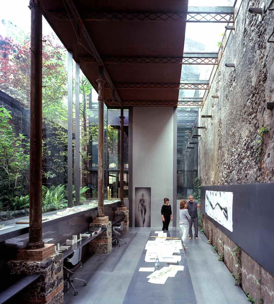 Barberí Laboratory (RCR Arquitectes Studio) Olot, Girona, Spain - Photo by Hisao Suzuki.