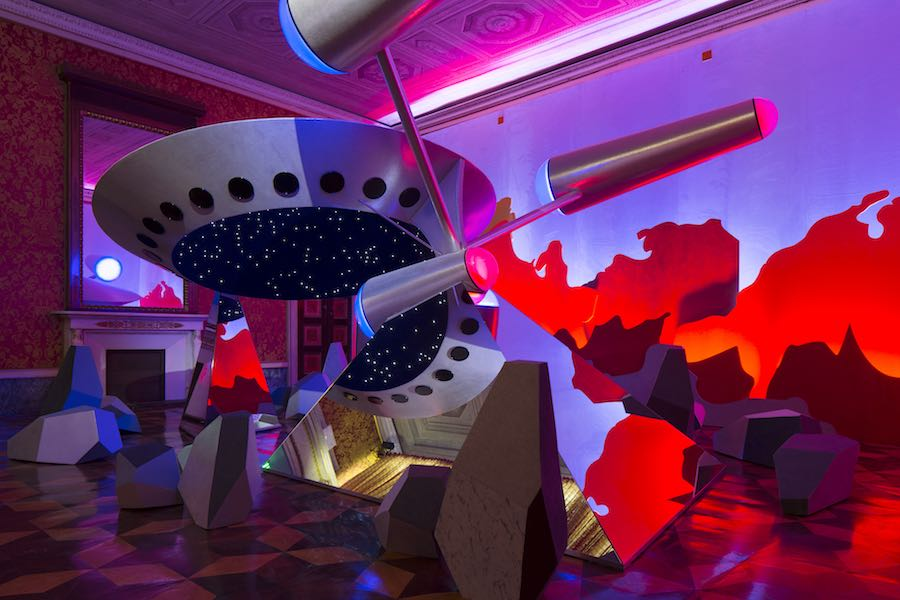 Fantasy Access Code - Nanda Vigo installation - Photo by Henrik Henrik Blomqvist.