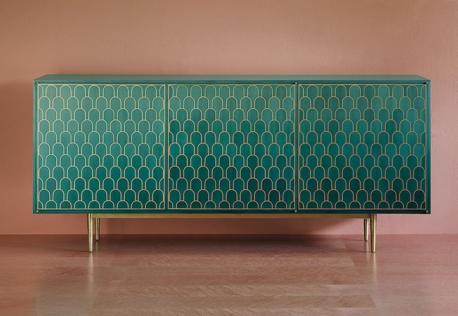 Omani architecture inspired furniture - Photo: courtesy of Bethan Gray.