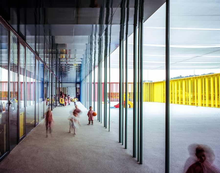 RCR Arquitectes: El Petit Comte Kindergarten, 2010, Besalú, Girona, Spain In collaboration with J. Puigcorbé - Photo by Hisao Suzuki.