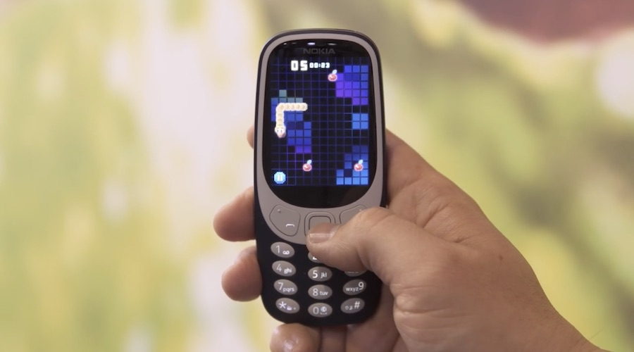 Nokia 3310 - Frame from Danny Winget from YT.