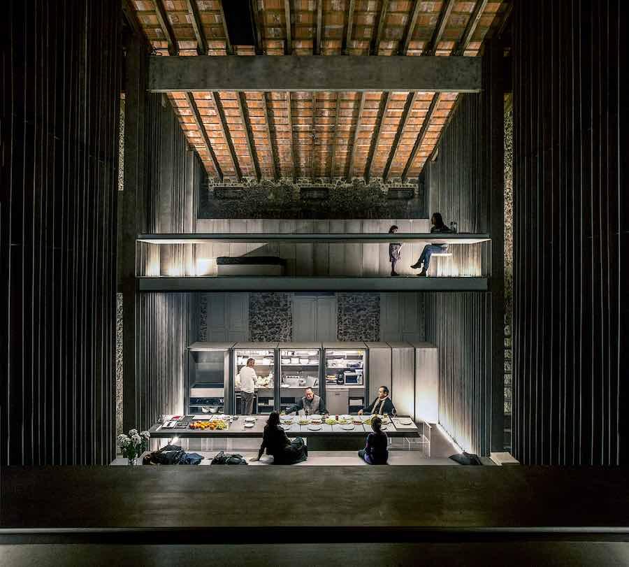 RCR arquitectes: Row House 2012 Olot, Girona, Spain - Photo by Hisao Suzuki.