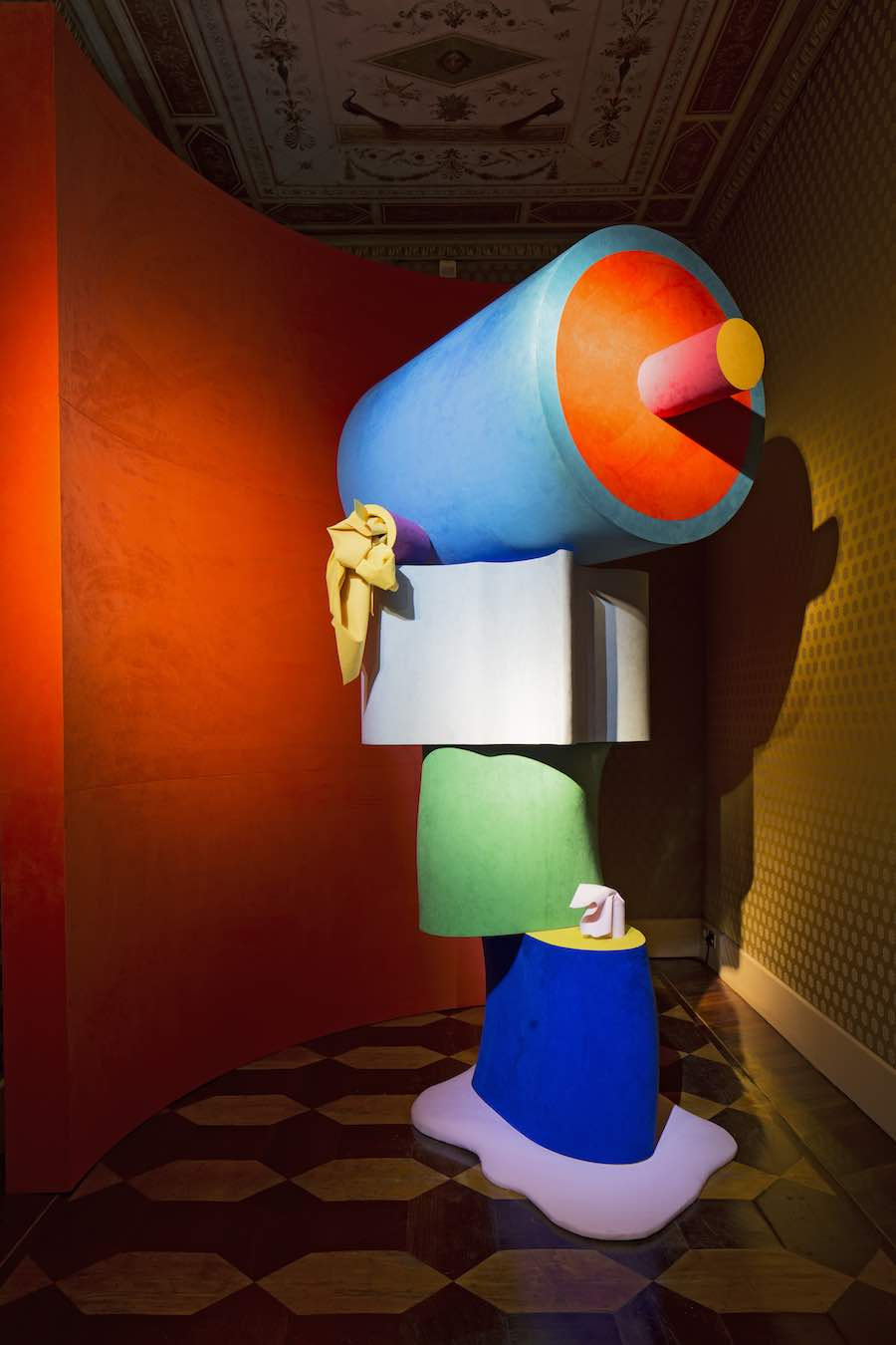 Fantasy Access Code - Lorenzo Vitturi installation - Photo by Henrik Henrik Blomqvist.