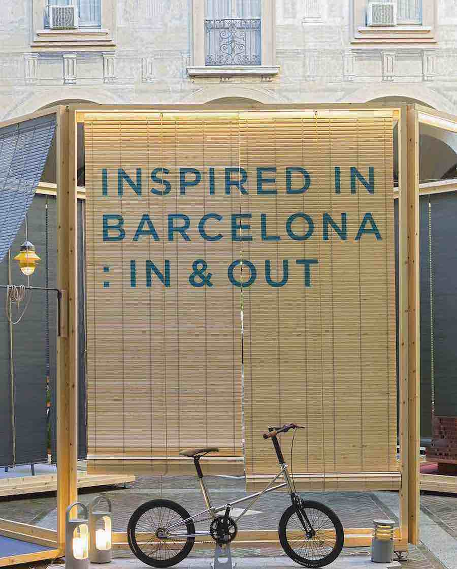 Inspired in Barcelona: In and Out - PHOTO courtesy of BCD.