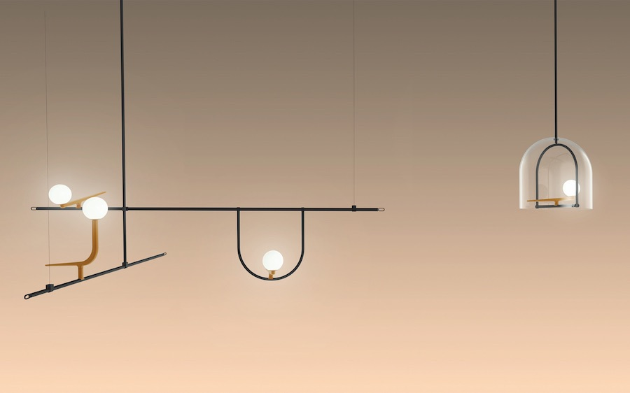 ARTEMIDE Yanzi Suspensions by Neri&Hu