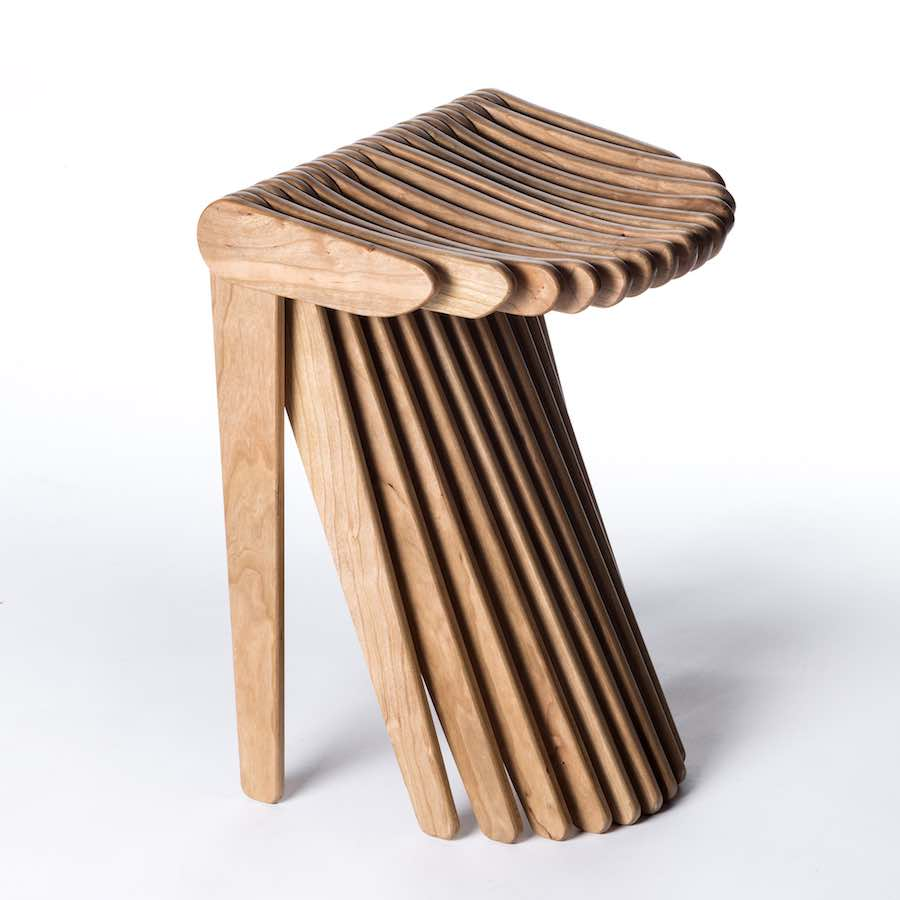 SWISG Stool by Carlo Ratti Associati - Courtesy of Carlo Ratti Associati.