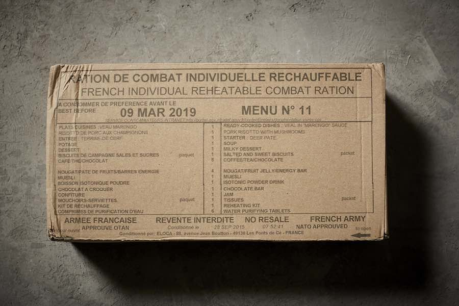 From MRE to Michelin: French army meal – All images by Henry Hargreaves.