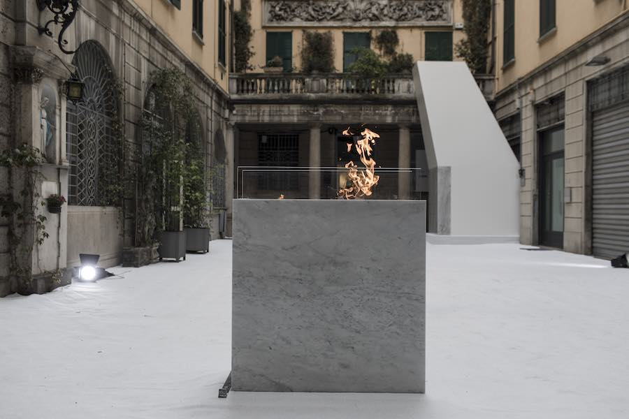 Fare luce exhibition @ Foscarini Spazio Brera - Photo by G. Koren, courtesy of Foscarini.