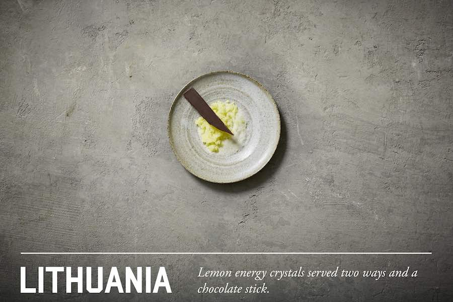 From MRE to Michelin: Lithuanian army meal dessert - All images by Henry Hargreaves.