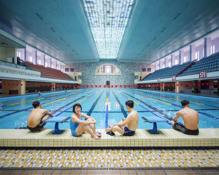 Pyongyang Ice Rink, Pyongyang - Photo by Raphael Olivier.