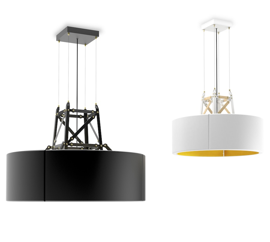 Construction Lamp Suspended by Joost van Bleiswijk - Courtesy of Moooi.