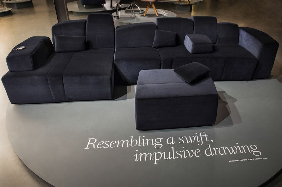 SOMETHING LIKE THIS SOFA by Maarten Baas - Courtesy of Moooi.