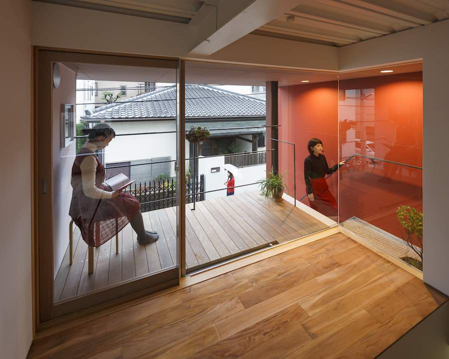 Around the Corner Grain building by Eureka and Maru Architecture - All photos by Ookura Hideki, courtesy of Eureka.