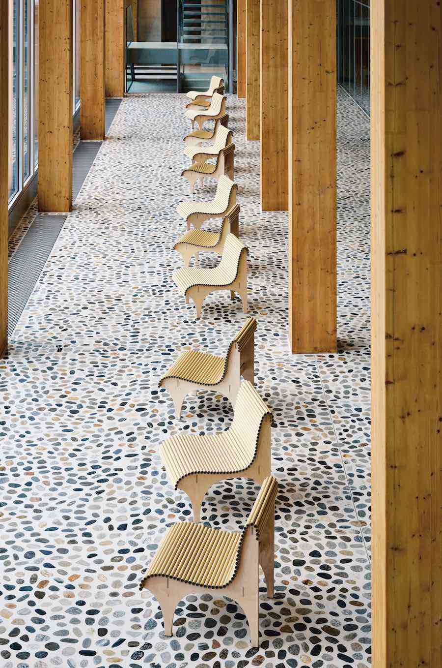 CARTA collection by Shigeru Ban for wb form - Photo: courtesy of wb form.