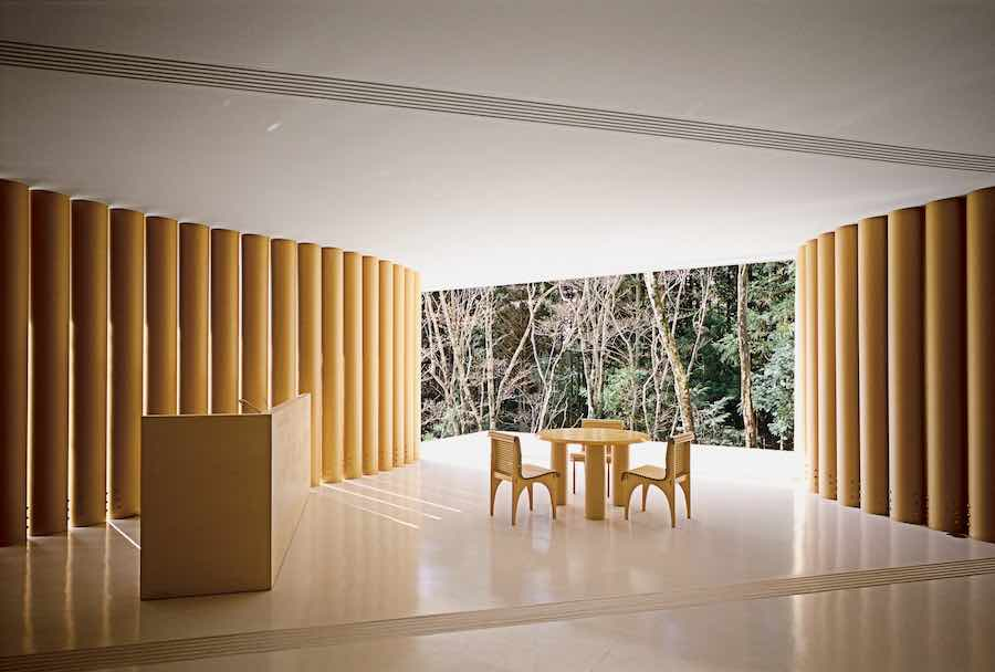 CARTA Collection By Shigeru Ban For Wb Form   Photo: Courtesy Of Wb Form.