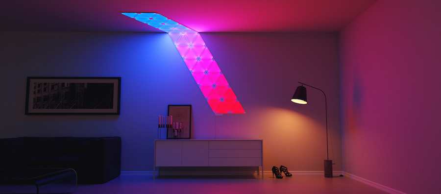 Aurora by Nanoleaf - Courtesy of Nanoleaf.