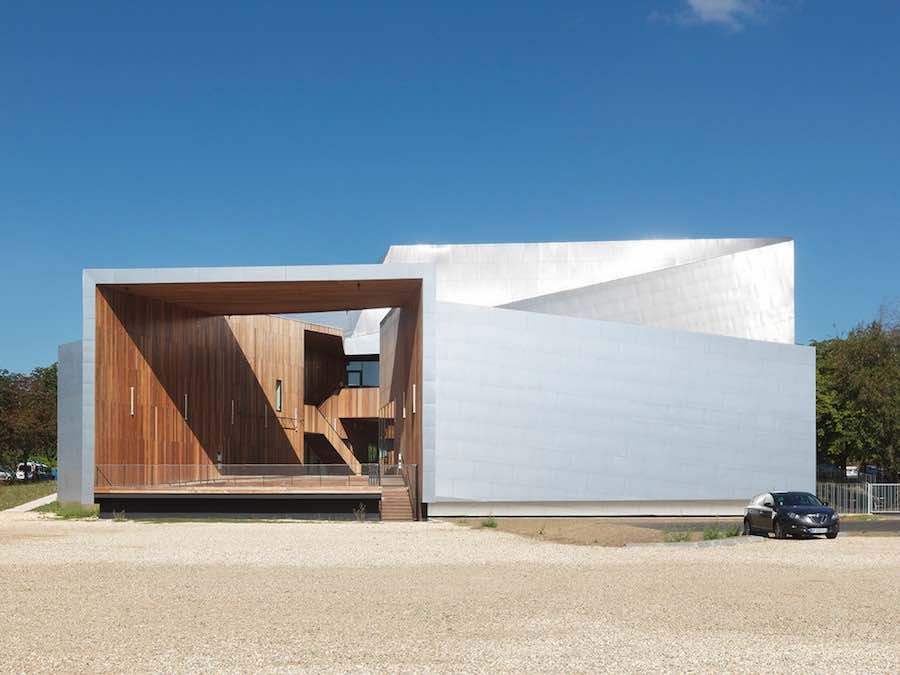 Modern Music Centre - Photo © André Morin – Courtesy of Hérault Arnod architectes.