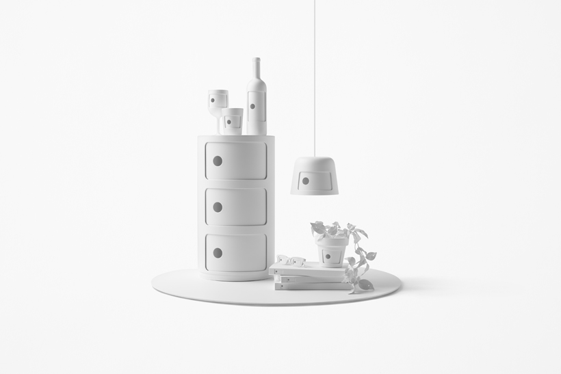 nendo redesigns Kartell's Componibili - Photo by Akihiro Yoshida, courtesy of nendo.