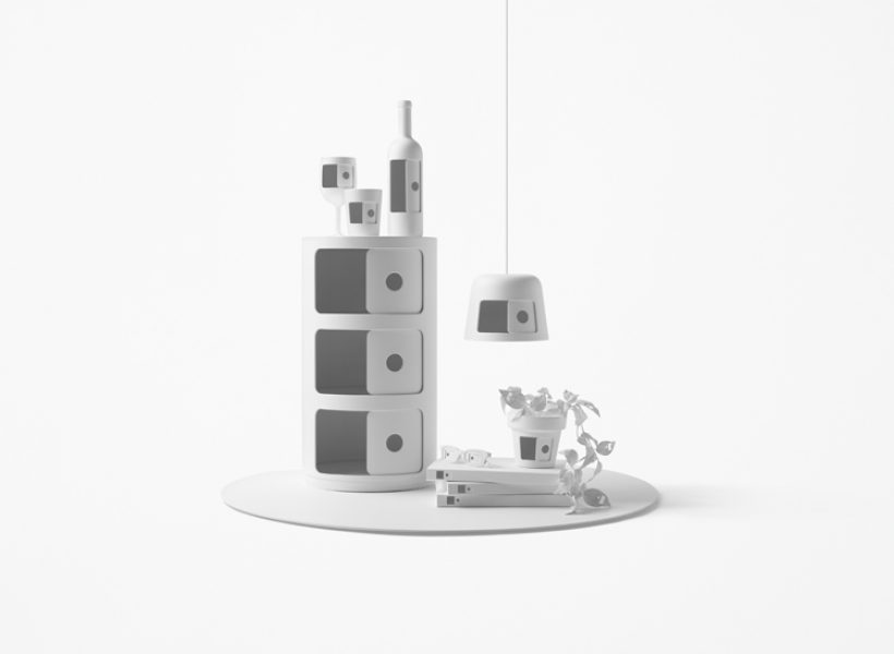 nendo redesigns Kartell's Componibili – Photo by Akihiro Yoshida, courtesy of nendo.
