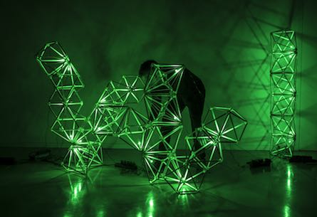 Olafur Eliasson's Green Light