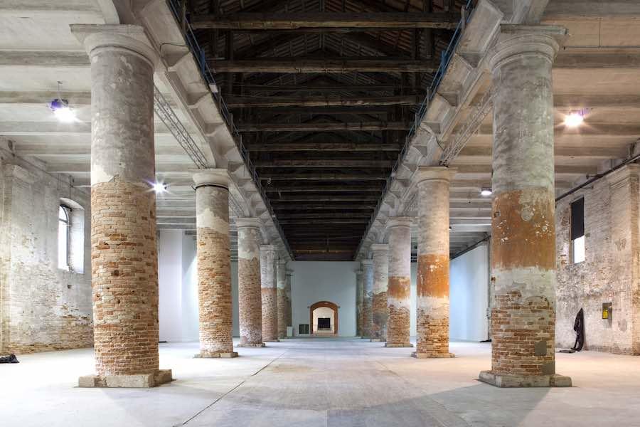 Venice Biennale, corderie Arsenale - photo by Giulio Squillacciotti.