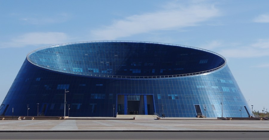 Humanities University, Astana - Photo by Ninara, CC BY 2.0.