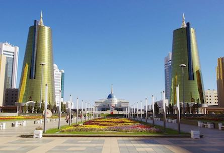 Welcome to Astana!