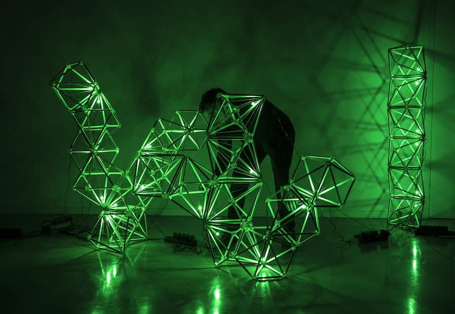 Green Light - Photo: Courtesy of Olafur Eliasson and Thyssen-Bornemisza Art Contemporary.