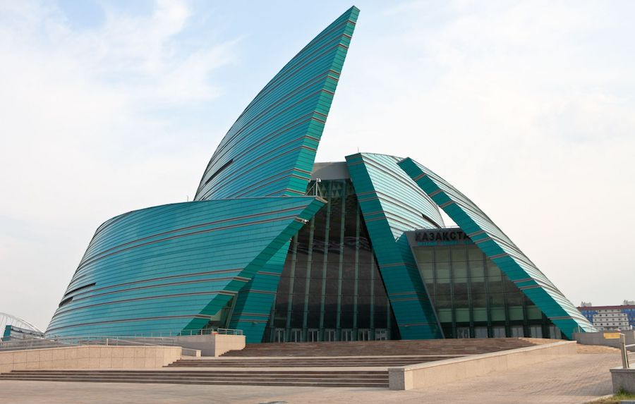 The Nazarbayev Center, Astana - Photo by Ninara, CC BY 2.0.