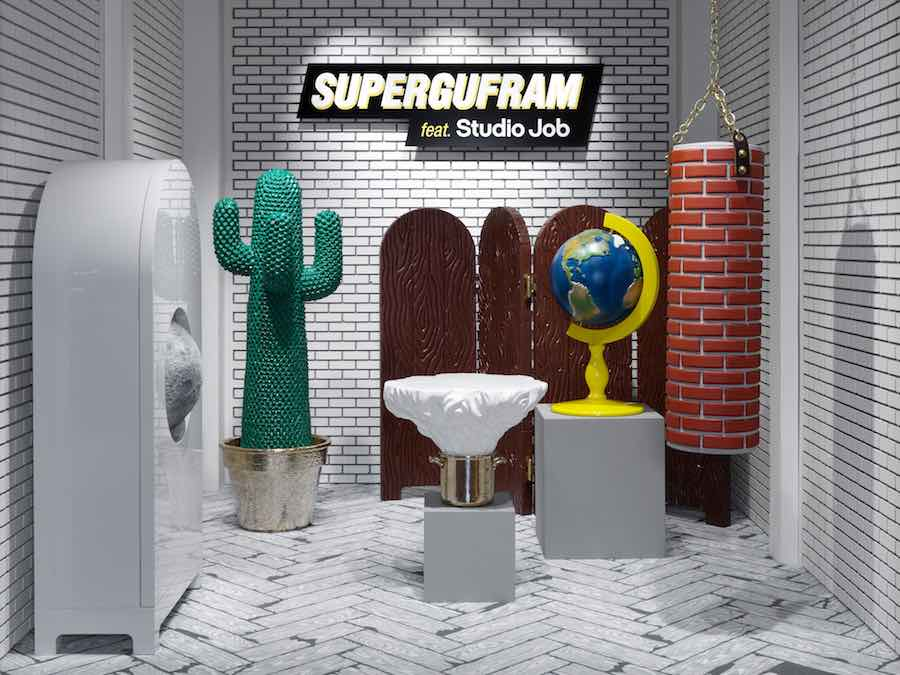 SUPERGUFRAM feat Studio Job - Photo by Annik Wetter.