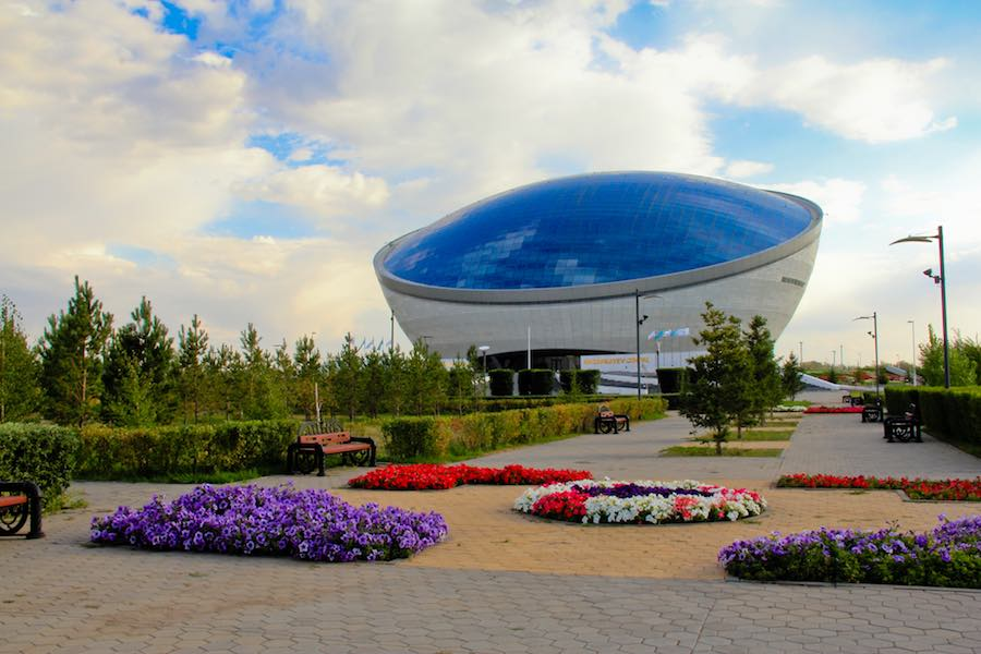 The Nazarbayev Center, Astana - Photo by Ninara CC BY 2.0.