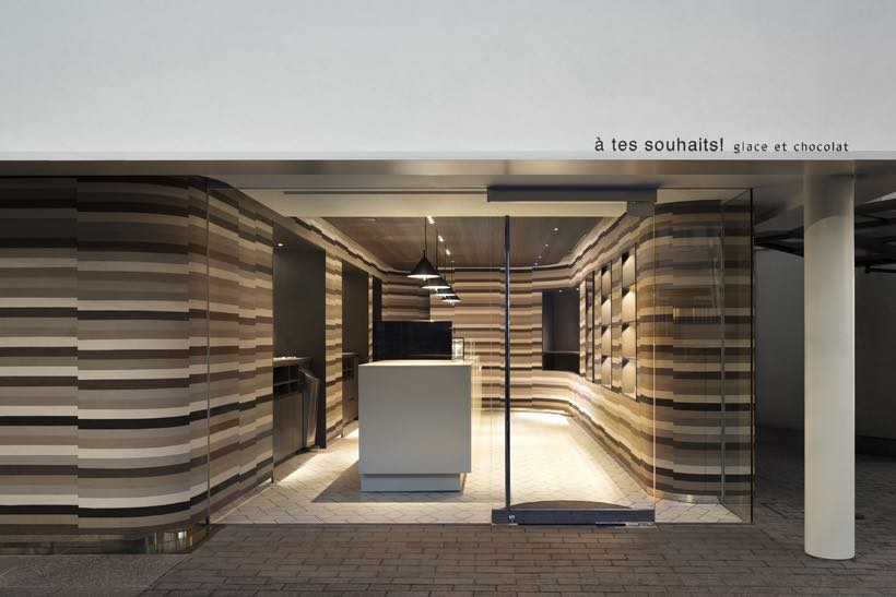 À tes souhaits! ice-cream and chocolate patisserie by Nendo - Photo by Takumi Ota - Courtesy of Nendo.