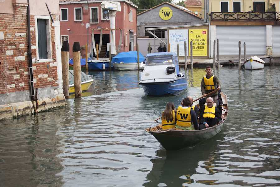 La Venezia che non si vede / Unveiling the unseen - Photo: courtesy of Catalonia in Venice.