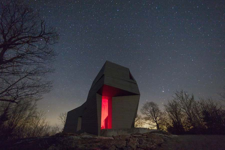 Gemma observatory - photo by Anmahian Winton Architects.