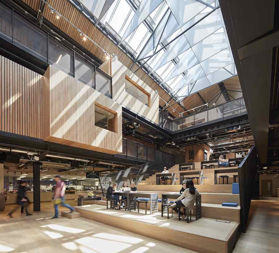 2017 World of Interiors shortlist: Henegan Peng Architecture - Airbnb Headquarters Dublin