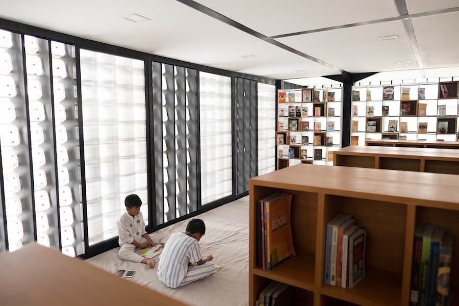 Microlibrary Bima - Photo by Sanrok Studio - SHAU.