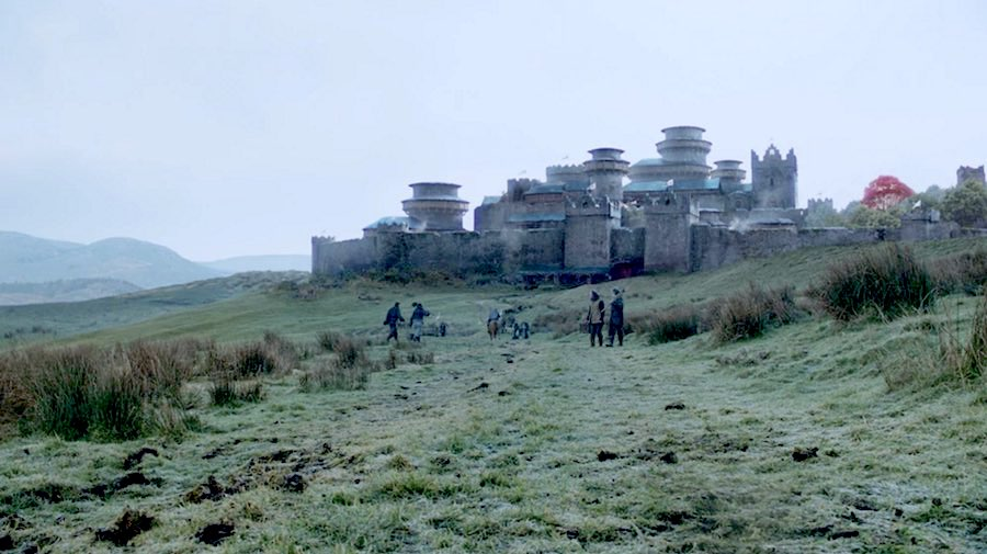 Winterfell - Photo via Games of Thrones Wiki.