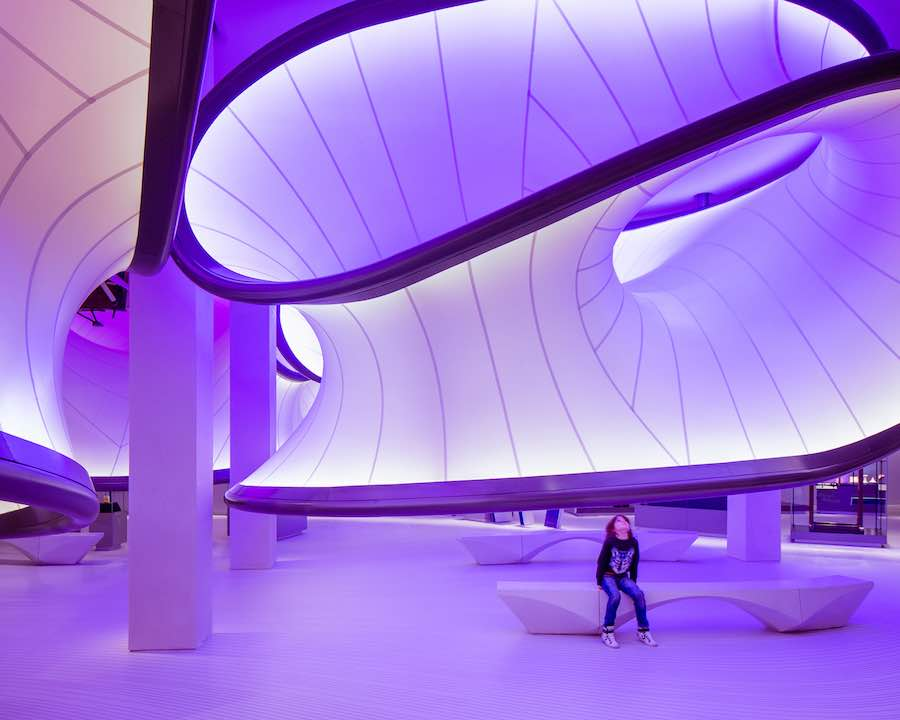 2017 World of Interiors shortlist - Zaha Hadid Architects - Mathematics gallery - Photo by Luke Hayes.