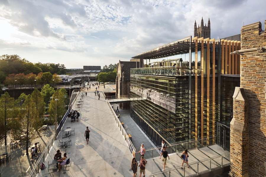 WAF 2017 Shortlist - Grimshaw, Duke University West Campus Union, Durham, USA.