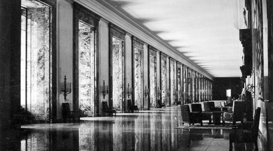 Albert Speers Third Reich HQs – demolished.